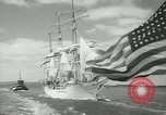 Image of Norwegian sailing ship New York United States USA, 1957, second 9 stock footage video 65675077119