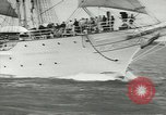 Image of Norwegian sailing ship New York United States USA, 1957, second 11 stock footage video 65675077119