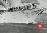 Image of Norwegian sailing ship New York United States USA, 1957, second 12 stock footage video 65675077119