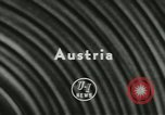 Image of storks Austria, 1957, second 3 stock footage video 65675077122