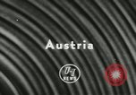 Image of Actinia Austria, 1957, second 3 stock footage video 65675077123