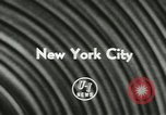 Image of Police Athletic League Boxing Finals New York City USA, 1957, second 5 stock footage video 65675077125