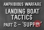 Image of landing boats United States USA, 1944, second 10 stock footage video 65675077223