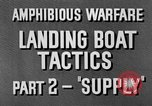 Image of landing boats United States USA, 1944, second 12 stock footage video 65675077223