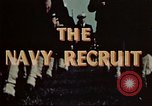 Image of navy recruits Illinois United States USA, 1947, second 8 stock footage video 65675077249