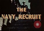 Image of navy recruits Illinois United States USA, 1947, second 9 stock footage video 65675077249