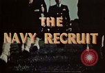 Image of navy recruits Illinois United States USA, 1947, second 10 stock footage video 65675077249