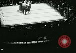 Image of boxing bout New York City USA, 1930, second 2 stock footage video 65675077340