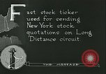 Image of technological advancement United States USA, 1921, second 2 stock footage video 65675077343