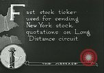 Image of technological advancement United States USA, 1921, second 7 stock footage video 65675077343