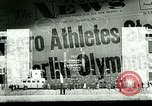 Image of Jesse Owens wins the 100 meter dash Berlin Germany, 1936, second 5 stock footage video 65675077353