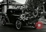 Image of decorated automobiles for Presidential campaign rally United States USA, 1916, second 9 stock footage video 65675077365
