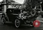 Image of decorated automobiles for Presidential campaign rally United States USA, 1916, second 11 stock footage video 65675077365