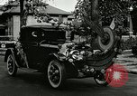 Image of decorated automobiles for Presidential campaign rally United States USA, 1916, second 12 stock footage video 65675077365