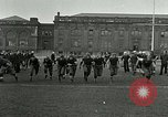 Image of US Navy football players North Chicago Illinois USA, 1916, second 4 stock footage video 65675077366