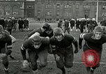 Image of US Navy football players North Chicago Illinois USA, 1916, second 9 stock footage video 65675077366