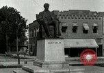 Image of Hodgenville statue of Abraham Lincoln Hodgenville Kentucky USA, 1916, second 11 stock footage video 65675077371