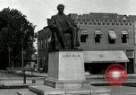 Image of Hodgenville statue of Abraham Lincoln Hodgenville Kentucky USA, 1916, second 12 stock footage video 65675077371