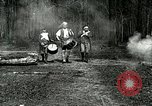 Image of Revolutionary reenactor drummers and fife player United States USA, 1916, second 11 stock footage video 65675077372