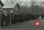 Image of World War I US Navy recruits in civilian clothing begin training  Great Lakes Illinois USA, 1917, second 2 stock footage video 65675077382
