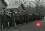 Image of World War I US Navy recruits in civilian clothing begin training  Great Lakes Illinois USA, 1917, second 4 stock footage video 65675077382