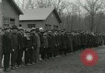 Image of World War I US Navy recruits in civilian clothing begin training  Great Lakes Illinois USA, 1917, second 5 stock footage video 65675077382