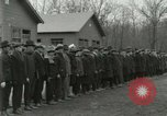 Image of World War I US Navy recruits in civilian clothing begin training  Great Lakes Illinois USA, 1917, second 6 stock footage video 65675077382