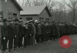 Image of World War I US Navy recruits in civilian clothing begin training  Great Lakes Illinois USA, 1917, second 7 stock footage video 65675077382
