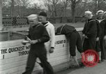 Image of Food and mess operation at Naval Station Great Lakes World War I Great Lakes Illinois USA, 1917, second 7 stock footage video 65675077385