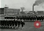 Image of US Navy sailors drill during World War I training Great Lakes Illinois USA, 1917, second 2 stock footage video 65675077388