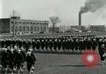 Image of US Navy sailors drill during World War I training Great Lakes Illinois USA, 1917, second 4 stock footage video 65675077388