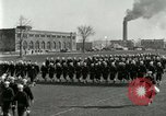 Image of US Navy sailors drill during World War I training Great Lakes Illinois USA, 1917, second 5 stock footage video 65675077388