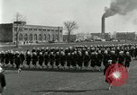 Image of US Navy sailors drill during World War I training Great Lakes Illinois USA, 1917, second 6 stock footage video 65675077388