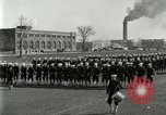 Image of US Navy sailors drill during World War I training Great Lakes Illinois USA, 1917, second 7 stock footage video 65675077388