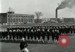 Image of US Navy sailors drill during World War I training Great Lakes Illinois USA, 1917, second 9 stock footage video 65675077388