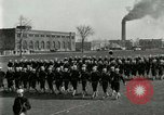 Image of US Navy sailors drill during World War I training Great Lakes Illinois USA, 1917, second 10 stock footage video 65675077388