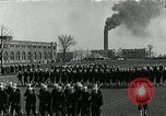 Image of US Navy drills and training on parade field Great Lakes Illinois USA, 1917, second 1 stock footage video 65675077389