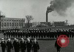 Image of US Navy drills and training on parade field Great Lakes Illinois USA, 1917, second 2 stock footage video 65675077389