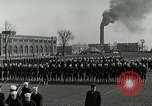 Image of US Navy drills and training on parade field Great Lakes Illinois USA, 1917, second 4 stock footage video 65675077389