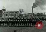Image of US Navy drills and training on parade field Great Lakes Illinois USA, 1917, second 6 stock footage video 65675077389
