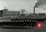 Image of US Navy drills and training on parade field Great Lakes Illinois USA, 1917, second 8 stock footage video 65675077389