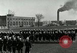 Image of US Navy drills and training on parade field Great Lakes Illinois USA, 1917, second 12 stock footage video 65675077389