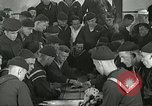 Image of US Navy sailors playing cards Great Lakes Illinois USA, 1917, second 2 stock footage video 65675077390