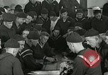 Image of US Navy sailors playing cards Great Lakes Illinois USA, 1917, second 3 stock footage video 65675077390
