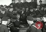 Image of US Navy sailors playing cards Great Lakes Illinois USA, 1917, second 5 stock footage video 65675077390