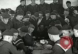 Image of US Navy sailors playing cards Great Lakes Illinois USA, 1917, second 6 stock footage video 65675077390