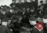 Image of US Navy sailors playing cards Great Lakes Illinois USA, 1917, second 7 stock footage video 65675077390
