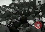 Image of US Navy sailors playing cards Great Lakes Illinois USA, 1917, second 8 stock footage video 65675077390