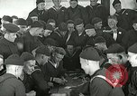 Image of US Navy sailors playing cards Great Lakes Illinois USA, 1917, second 10 stock footage video 65675077390