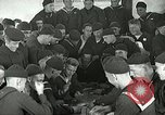 Image of US Navy sailors playing cards Great Lakes Illinois USA, 1917, second 11 stock footage video 65675077390